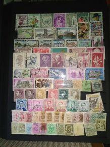 timbres thèmes différents pays (classeur)