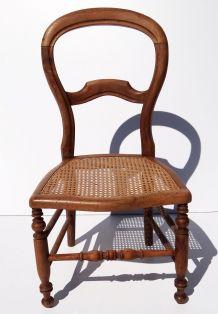Chaise à nourrice style Louis Philippe