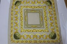 foulard carré Paris Nicole de Beauvoir