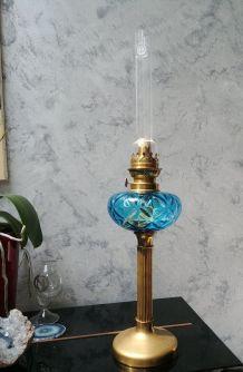 Grande lampe à pétrole des années 20 - ART DECO - VINTAGE