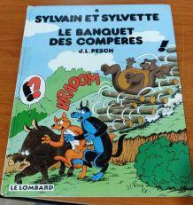 BD SYLVAIN ET SYLVETTE (4) LE BANQUET DES COMPERES