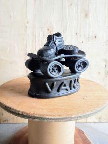 Sculpture déco VANS - display vitrine