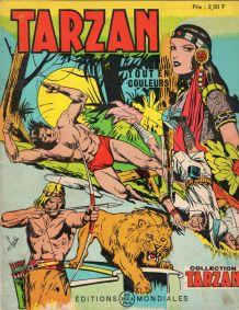 Bande dessinée Tarzan n°52 de 1971