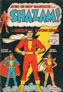 bande dessinée shazam n° 3 de 1974
