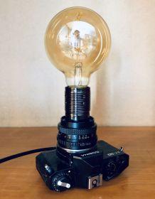 Lampe vintage Nicole Cosina - Atelier Monsieur Lumière