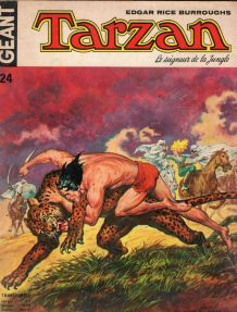 bande dessinée de Tarzan Géant 24 de 1975