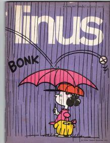 bande dessinée LINUS 1972 en italien