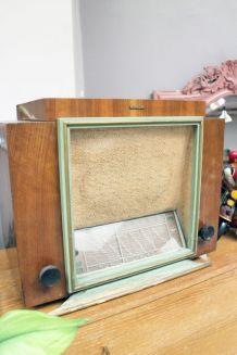 RARE- Poste radio vintage ancien 1955 de Marconi