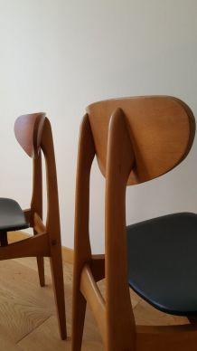 Paire de chaises Stella modèle Ingrid