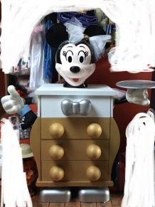 Commode Mickey Mouse Pierre Colleu  customizée en Minnie