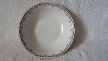 Saladier Porcelaine de luxe de la compagnie nationale