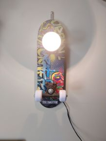 Lampe skateboard