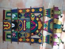 tenture murale ethnique