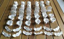 Décors de table en porcelaine / AFIBEL 46 pièces