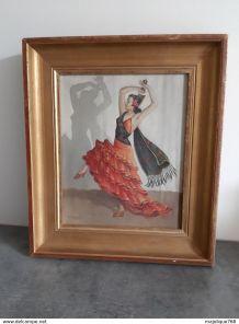 Tableau du XX° siècle - peinture de Robert Houy