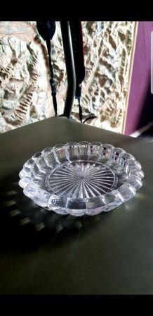 3 cendriers cristal