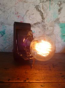 LAMPE D'AMBIANCE - BUREAU - VINTAGE - KODAK