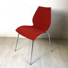 """Chaise """"Maui Soft"""" rouge par Kartell"""