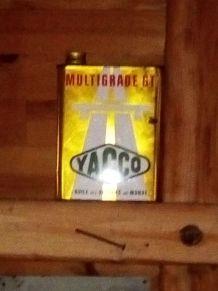 Bidon huile yacco