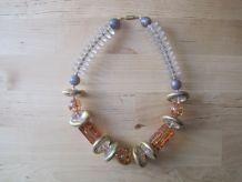 Joli collier 1950/60 vintage    longueur ouvert 47 cm