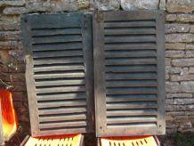 persienne en bois