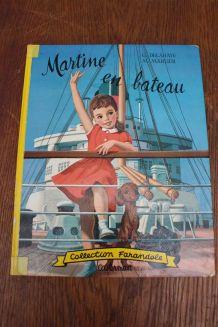 LIVRE MARTINE EN BATEAU CASTERMAN 1966