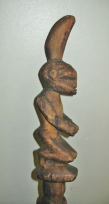 Baton Rituel Africain, Shango ou Yoruba,  Nigeria