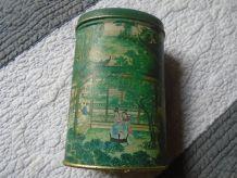 Boite à thé décor en relief
