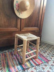 Tabouret traditionnel marocain