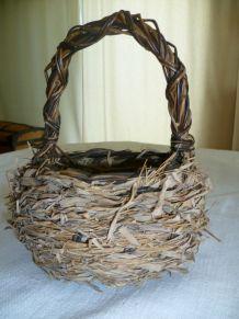 Panier nid d'oiseau