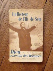 Un Recteur De l' Ile De Sein- Henri Queffelec- Stock- 1951