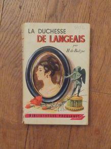 La Duchesse De Langeais- Honoré De Balzac- 1953- Grund