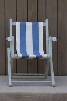 Petite chaise  pliante pour enfant