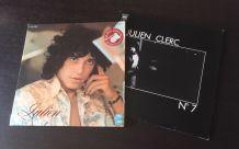 Julien Clerc lot 2 vinyles 33 t
