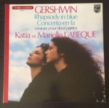 Katia et Marielle Labèque - Gershwin - 33 t 1980