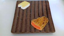 Plateau à fromages Vallauris vintage