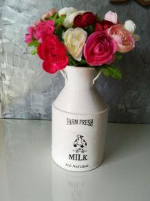 Pot à lait relooké