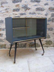 meuble vitrine vintage