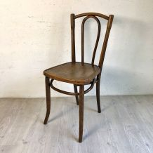 Chaise bistrot style Thonet vintage 50's