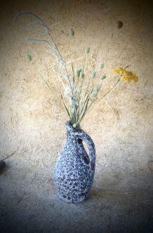 Vase céramique écume de mers