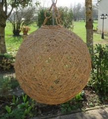 Suspension boule fil vintage