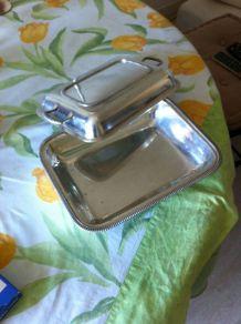 légumier métal argenté 26x20 sur ht5