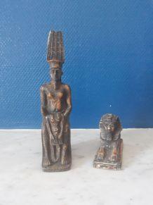 Statuettes égyptiennes