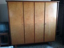 armoire vintage 4 portes