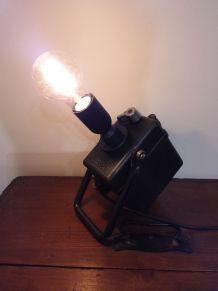 Lampe SNCF électrifiée n°130