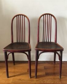 Chaises Thonet  bistrot vintage 1920