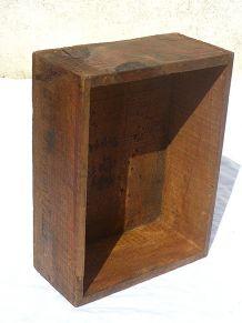 Caisse en bois Roquefort louis Rigal années 50