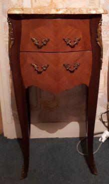 Paire De Chevets Style Louis XV