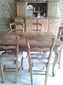 salle à manger table buffet chaises