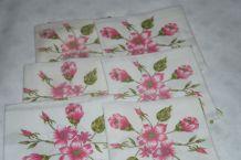 lot 6 serviettes de table